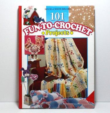 Crochet Book, 101 Fun To Crochet Projects, Crochet Patterns, Holiday Patterns