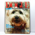 Dogue Magazine, Vogue Magazine Parody, Fashion Magazine for Dogs, 1986 Collectible