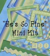 """""""He's So Fine"""" Digital Mini Kit"""