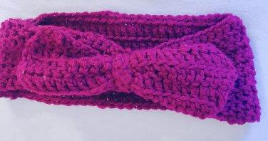 Magenta Bow Headband