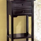BLACK TELEPHONE TABLE
