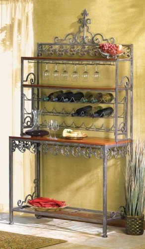 ORNATE WINE RACK