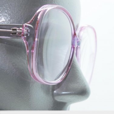 Lovely Lavender Lilac Women's Reading Glasses Bold Statement Frame +2.50 Lens