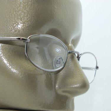 Reading Glasses Narrow Metal Frame +1.00 Pretty Gunmetal Gray