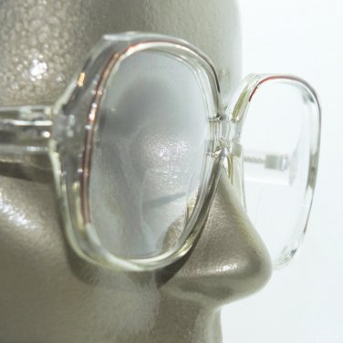 Reading Glasses Bifocal Brown Line Accent Big Statement Women's Frame +1.50