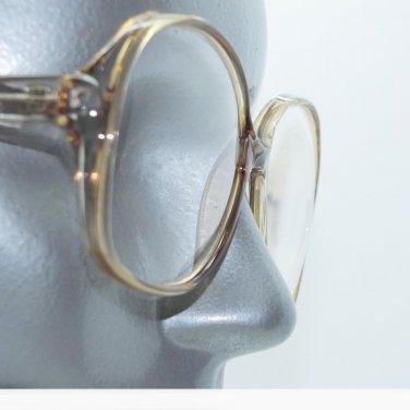 Big Statement Full Frame Women's Reading Glasses Caramel Topaz  +1.25 Lens