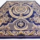 blue  deal sale rug area rug  10 x 13 oriental design liquidation clearance