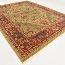 Heriz deal sale carpet  area rug 9x12 clearance art