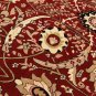 excellent red deal sale clearance rug carpet nice beautiful isfahan