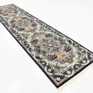 navy art rug sale clearance rug  3x13 runner  rug  deal  liquidation sale