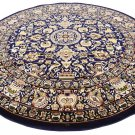ORIENTAL carpet barter rug round circle superb quality perfect deal sale