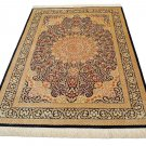 TOP OF THE LINE Persian silk carpet/rug qom handmade 100% pure silk 600kpsi