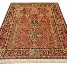 GHOM ghandil design Persian silk carpet/rug qom handmade 100% pure silk 600/kpsi