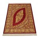 unique excellent design Persian silk rug qom handmade 100% pure silk 600/kpsi