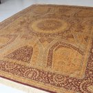 SHAHYAD ART FEAT Persian silk carpet/rug qom handmade 100% pure silk 600/kpsi
