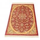 Medallion design Persian silk carpet/rug qom handmade 100% pure silk 600/kpsi