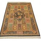 unique super design Persian silk carpet/rug qom handmade 100% pure silk 600/kpsi