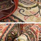 SEMI ANTIQUE Persian silk carpet/rug qom handmade 100% pure silk 300 Kpsi