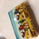 trinket box hand paint  gift decorative art feat work master made deal sale