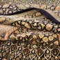 6.7 x 10.2 area rug Persian silk rug qom handmade 100% pure silk 600/kpsi