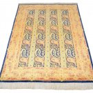 paisely  rug Persian silk rug qom handmade 100% pure silk 600/kpsi master made