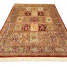MUSEUM PIECE Persian silk carpet/rug qom handmade 100% pure silk 600kpsi