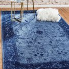 blue TURKISH AREA  rug 5 x 8  superb quality perfect deal sale clearance