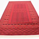 NICE TURKISH AREA  rug 9 X 12  BOKHARA superb quality perfect deal sale