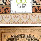 Art Feat MUSEUM  Persian silk carpet/rug qom handmade 100% pure silk 600kpsi