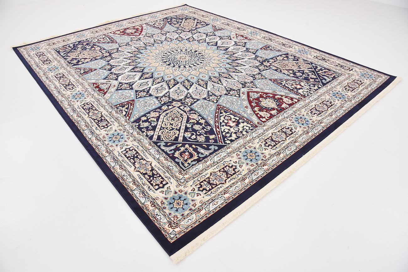 top of the line TURKISH AREA Persian design rug Nain 8 x 10 superb deal sale