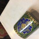 gold coin Trinket box  camel bone miniature paint deal sale work of art