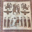 Persian empire Syrus the great ancient tapestry wall hang cotton home decor art