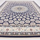 excellent nain  darknavy blue  carpet  9x12  design liquidation clearance rug
