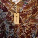 NEW $89 Two by Vince Camuto Womens SIZE MEDIUM Boho Blouse Top