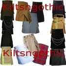 Multi New Style Scottish Utility Kilts Made For Active Men