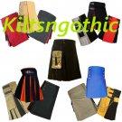 Multi Scottish Hybrid Kilts Stylish Utility Unisex Adult Handmade For Men