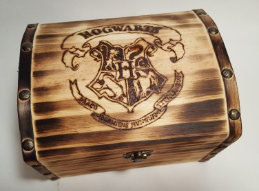 Wooden Hogwarts Chest