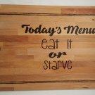 Snarky-Sweet Cutting Board