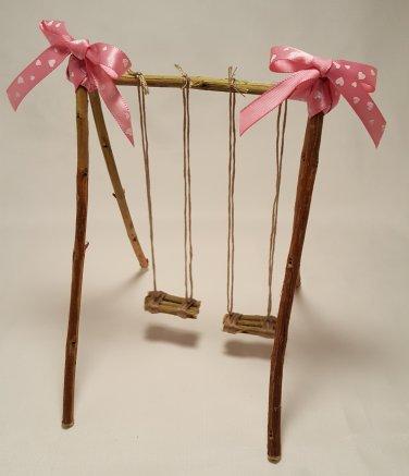 Tiny swing set