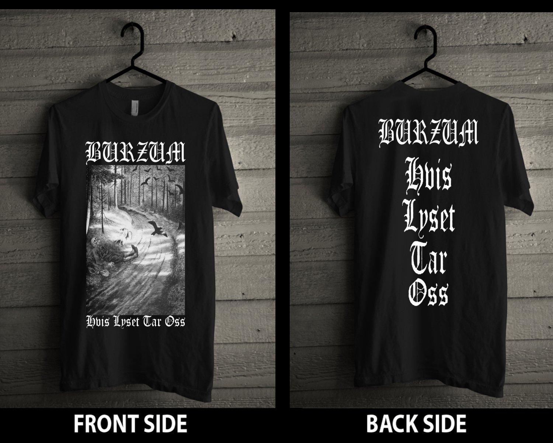 1BURZUM Tshirt MAYHEM DARKTHRONE IMMORTAL GORGOROTH MARDUK EMPEROR Black Metal