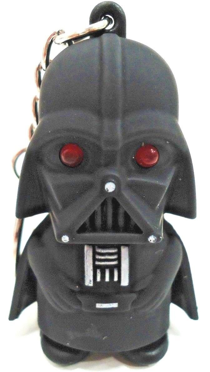 STAR WARS - DARTH VADER - LED - KEY - CHAIN - FOB - FIGURE - NEW - YODA - JEDI