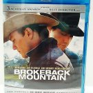 BROKEBACK MOUNTAIN - BLURAY - DVD - HEATH LEDGER - JAKE GYLLENHAAL - NEW - MOVIE