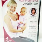 POST- PREGNANCY - WEIGHT LOSS - DVD - SHANNON MILLER - 4 DISC SET - MATERNITY