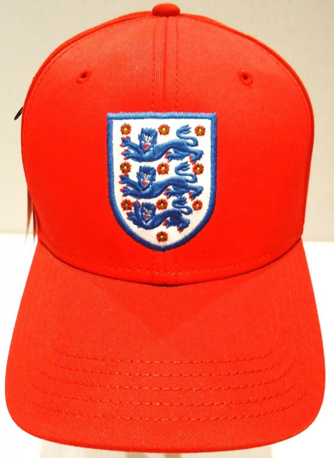 UMBRO - ENGLAND - RED - OFFICIAL - SOCCER - TEAM - CAP - NEW - ROONEY - HAT