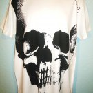 RALPH LAUREN - POLO - RL - LARGE - BLACK -  WHITE - SKULL - T-SHIRT - TEE - NEW