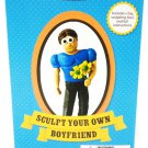 BLUW - SCULPT YOUR OWN BOYFRIEND - CLAY - MODELING - KIT - NEW - CLAYMATION