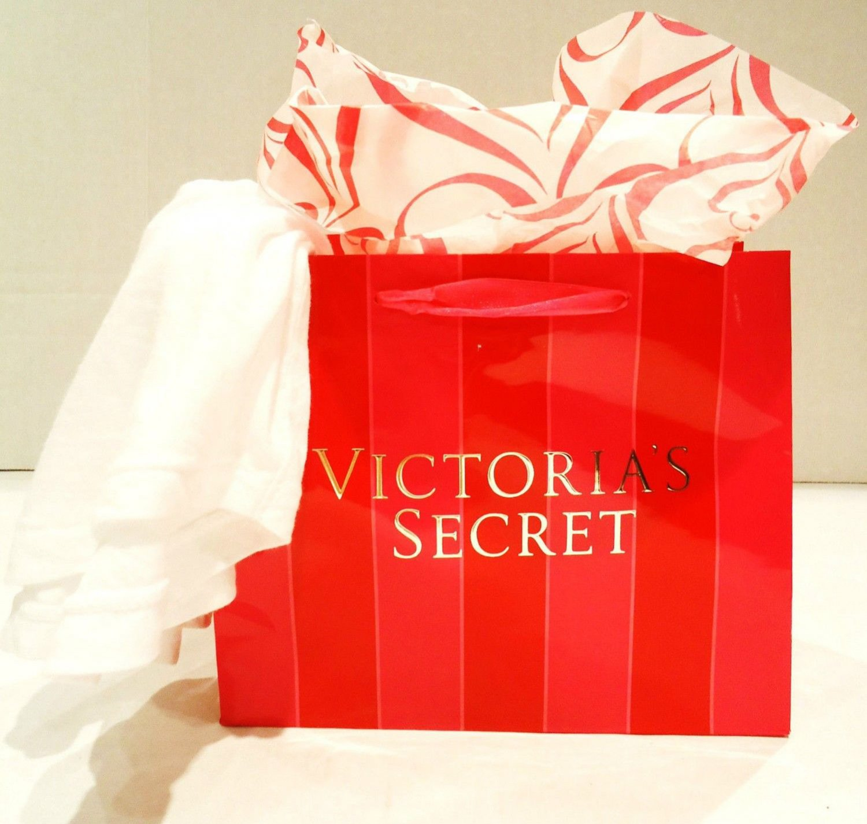 VICTORIA'S SECRET - WHITE - COTTON - TANK - TOP - TEE - MEDIUM - BRAND NEW