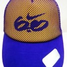 NIKE - 6.0 - FITTED - PURPLE - YELLOW - TRUCKER - CAP - LAKERS - KOBE - HAT