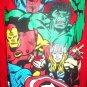 MARVEL - COMICS - RETRO - AVENGERS - RED - SWEATSHIRT - LARGE - 11/13 - NEW