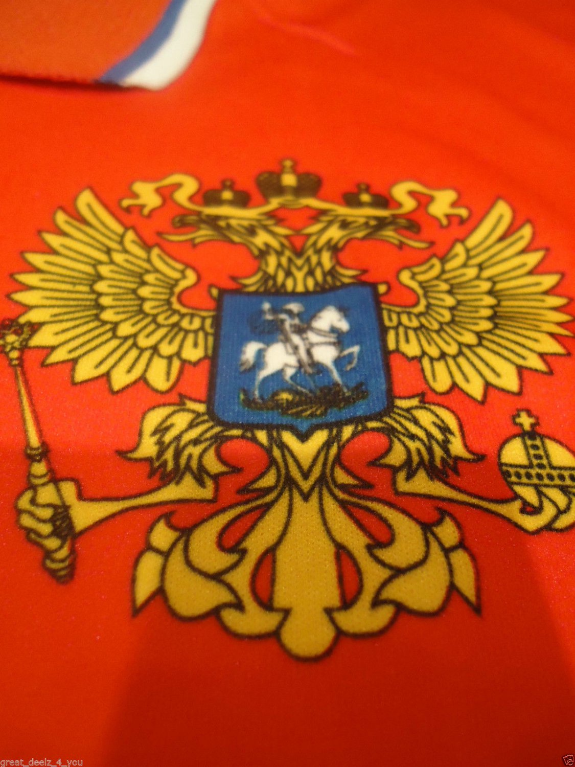 RUSSIAN - SOCCER - CLUB - SHIRT - M - NEW - RUSSIA - NATIONAL - TEAM - JERSEY